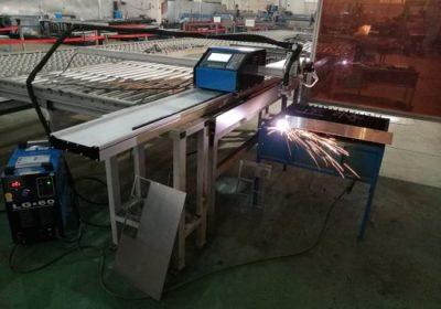 furnizimin me metal cnc router / fletë metalike plazma cnc profil tub prerje makine