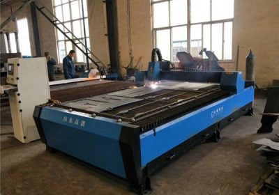Funksionim i thjeshtë 1325 1530 2030 makine e prerjes plazma të lirë CNC