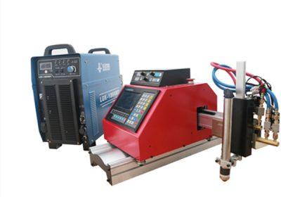 Metal çeliku auto tabela e re CNC plazma dhe prerja e flakës makinë