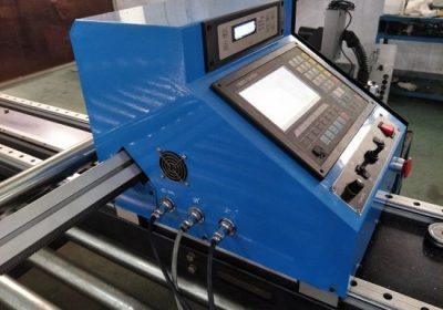 Pllakë çeliku cnc tavolinë plazma oxyfuel prerja makine me starfire cnc plazma prerja makine